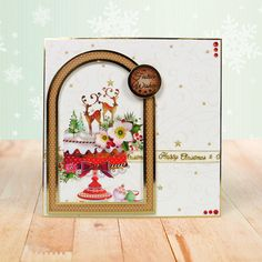 Hunkydory Window to the Heart Piece Collection- Includes Card Collection, Inserts and Second Little Book of Festive Poetry Hunkydory Crafts, Create And Craft, Heartfelt Creations, Heart Cards, Little Books, Christmas Inspiration, Vintage World Maps, Christmas Cards, Window
