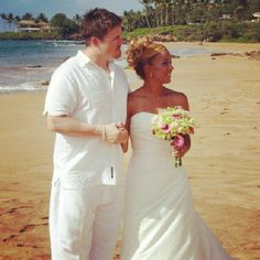 Maui, Hawaii; Makenna Beach Wedding