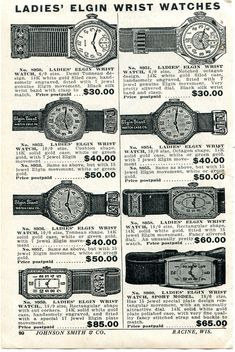 1929 small Print Ad of Ladies Elgin Giant Watch Case Co Wrist Watches | eBay