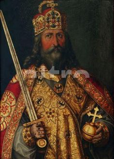 Middle Age King Charlemagne - My Great Grandfather Emperors New Clothes, Carolingian, Cultura General, Holy Roman Empire, Medieval World, My Ancestors, My Heritage, World Leaders, Roman Catholic