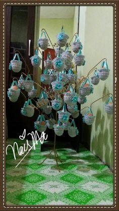 Bunga pahar kait jarum satu pinterest flower crafts and craft sarung bunga telur crochet ccuart Images