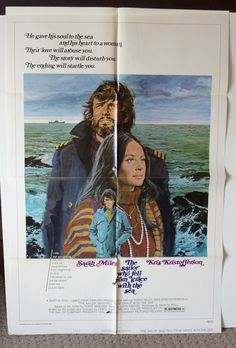 "Movie Poster ""The Sailor Who Fell from Grace with the Sea""  Original 1976 movie poster - Kris Kristofferson by MoviePostersAndMore on Etsy"