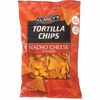 Clancy's Nacho Cheese Tortilla Chips from ALDI