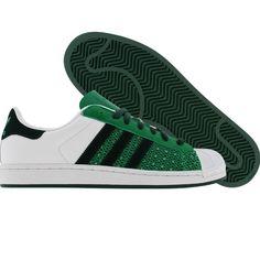 Adidas Superstar 1 (runninwhite / fairway / ivy) 160078 - $89.99
