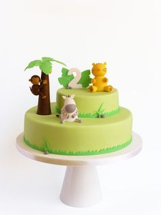 Peaceofcake ♥ Sweet Design: Welcome To The Jungle • Bolo Selva