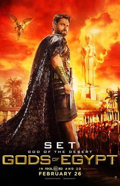 Gods of Egypt - Dois Posters & Trailer   Portal Cinema
