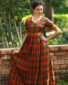 f95e25a249bd Traditional South Indian Style Maxi Dresses Indian Fashion