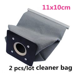 2 pcs/lot New Practical Vacuum Cleaner Bags Non Woven Bags Hepa Filter Dust Bags Cleaner Bags Accessories For Cleaner 11x10cm