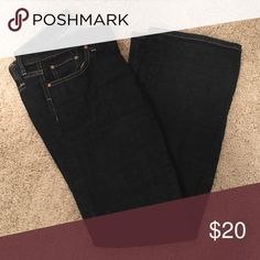 Banana Republic bootcut jeans Very good condition. Dark denim Banana Republic Jeans Boot Cut