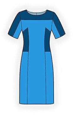 4228 PDF Sewing Pattern for Dress, Personalized for Custom Size, Women Clothing