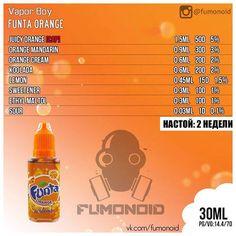 Vapor Bot, Funta Orange