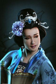 3D Digital Paintings by Baolong Zhang