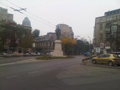 Downtown Old Bucharest Romania