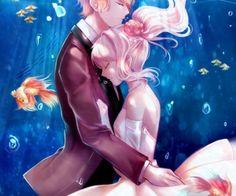 Diabolik Lovers - Shuu Sakamaki x Yui Komori