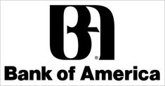 Bank of America logo - notice the American Eagle between B and A