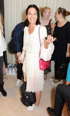 Lady Amanda Harlech attends the launch of the Bella Freud Parfum... News Photo 452566460