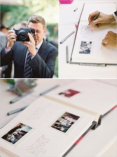 """ fuji instax guest book aka best guest book ever "" Wedding Bells, Diy Wedding, Wedding Favors, Wedding Reception, Wedding Photos, Dream Wedding, Wedding Invitations, Wedding Decorations, Wedding Day"