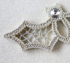 Tutorial for beadwoven necklace 'Blingy the von TrinketsBeadwork