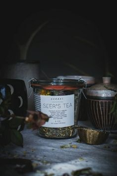 Local Milk | makr x local milk: d.i.y. labels, tea blending, & rosemary strawberry buttermilk muffins
