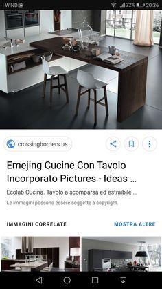Cucina tavolo
