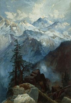 Summit of the Sierras by Thomas Moran, 1875.