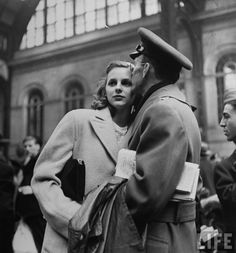 Alfred Eisenstaedt New York's Penn Station in 1944