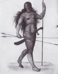 IL TATUAGGIO SACRO NELL'EUROPA ANTICA __ Sacerdotesse della Dea, Sciamani e Guerriere tatuate dell'Eurasia Barbarica
