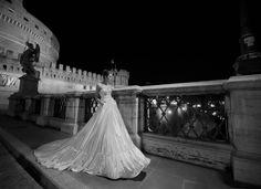 vestidos de novia Maxi falda plisada Inbal Dror