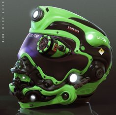 Helmet Concepts are Awesome :) #bike #bikelife #biker #bikes #chopper #custom…