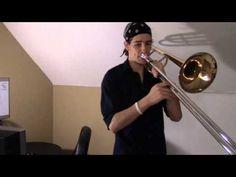 ▶ Robin Thicke - Blurred Lines: Trombone Loop - YouTube