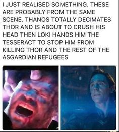 Oh, shit. I think if something happens with Thor or Loki fangirls will destroy Marvel.
