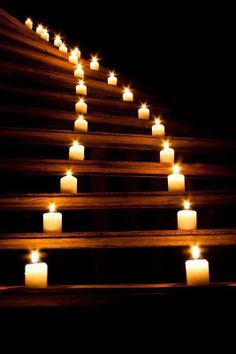 Candle Stairs......