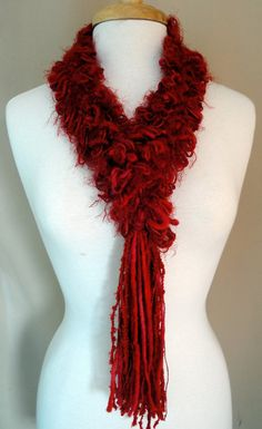 #crochet hairpin  Another interesting scarf