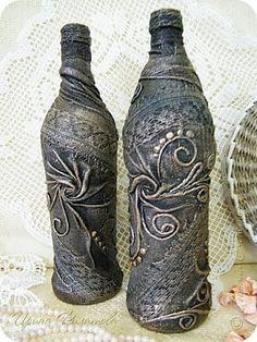 Бутылка декорированная ...