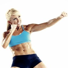 Hello abs, delts, shoulders, everything! Chalene Johnson Turbo Fire, Push
