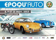 Epoqu'Auto 2013 : autos et motos anciennes ont rendez-vous à Lyon