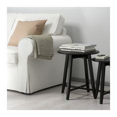 KRAGSTA Nesting tables, set of 2 - black - IKEA