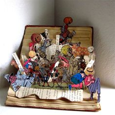 Top 10 Recycled Book Art | Recyclart