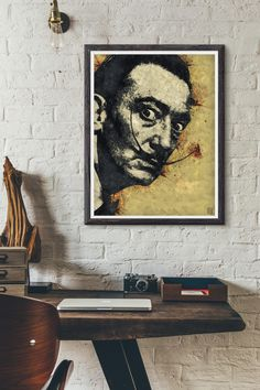 8x10 Salvador Dali Art Print, Salvador Dali Poster, PRINTABLE Home decor, Modern Wall Art, Best Selling Items, Pop Culture Poster https://www.etsy.com/listing/519280045/8x10-salvador-dali-art-print-salvador?utm_campaign=crowdfire&utm_content=crowdfire&utm_medium=social&utm_source=pinterest