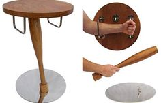 Transforming Table | stealthy furniture that doubles as a self defense weapon. Keep this one next to the bed and be armed and ready in no time #survivallife survivallife.com