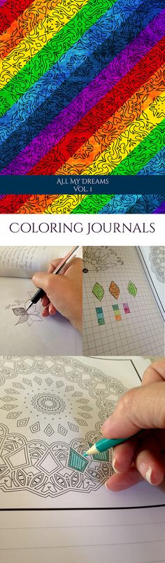 All new coloring journals: http://www.mercurous.net/all-new-coloring-journals/ #adultcoloringbooks