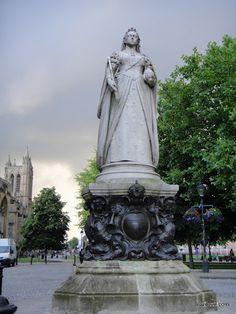 Bristol, UK  Queen Victoria statue