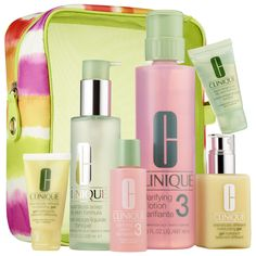 Sephora: CLINIQUE : Great Skin Home & Away Set Skin Types 3, 4 : skin-care-sets-travel-value