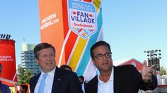 Toronto mayor impressed with World Cup Fan Village John Tory tours venue that will feature food, music, more Friday through Sept. 25 - Toronto mayor impressed with World Cup Fan Village