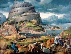 Мартен ван Хемскерк. Вавилонская башня