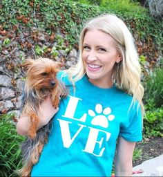 For the Love of Dogs T Shirt | Jane