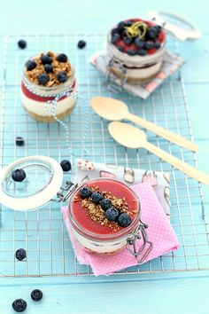 cheesecake in jar, cheesecake facile in barattolo