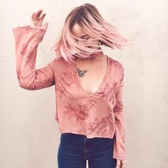 Flynn Skye Blooming Blush Memphis Top / Prism Boutique