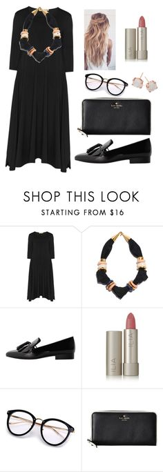 """""""Untitled #53"""" by lexi6493 ❤ liked on Polyvore featuring Isolde Roth, Lizzie Fortunato, MANGO, Ilia, Kate Spade and Ippolita"""