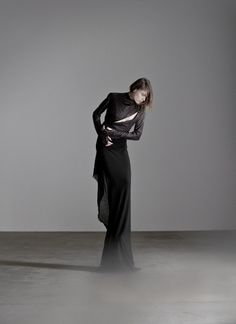 By OBSCUR #black #fashion #dress #jacket